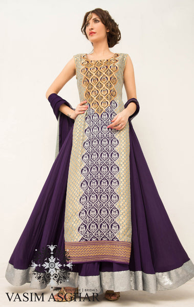 VA106 - Two toned lengha
