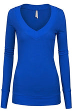 Load image into Gallery viewer, Royal Blue Tiffany Sweater