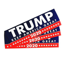"Load image into Gallery viewer, Best Selling 𝗗𝗼𝗻𝗮𝗹𝗱 𝗝. 𝗧𝗿𝘂𝗺𝗽 ""Keep America Great"" Bumper Stickers - 7.6 x 22cm"