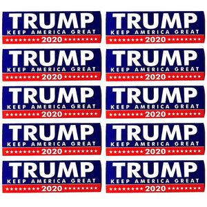 "Best Selling 𝗗𝗼𝗻𝗮𝗹𝗱 𝗝. 𝗧𝗿𝘂𝗺𝗽 ""Keep America Great"" Bumper Stickers - 7.6 x 22cm"