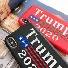 Load image into Gallery viewer, Brand New (iPhone only) 𝗗𝗼𝗻𝗮𝗹𝗱 𝗝. 𝗧𝗿𝘂𝗺𝗽 Election 2020 Polyester Phone Case