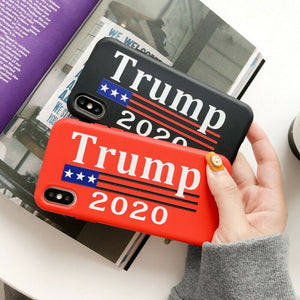 Brand New (iPhone only) 𝗗𝗼𝗻𝗮𝗹𝗱 𝗝. 𝗧𝗿𝘂𝗺𝗽 Election 2020 Polyester Phone Case