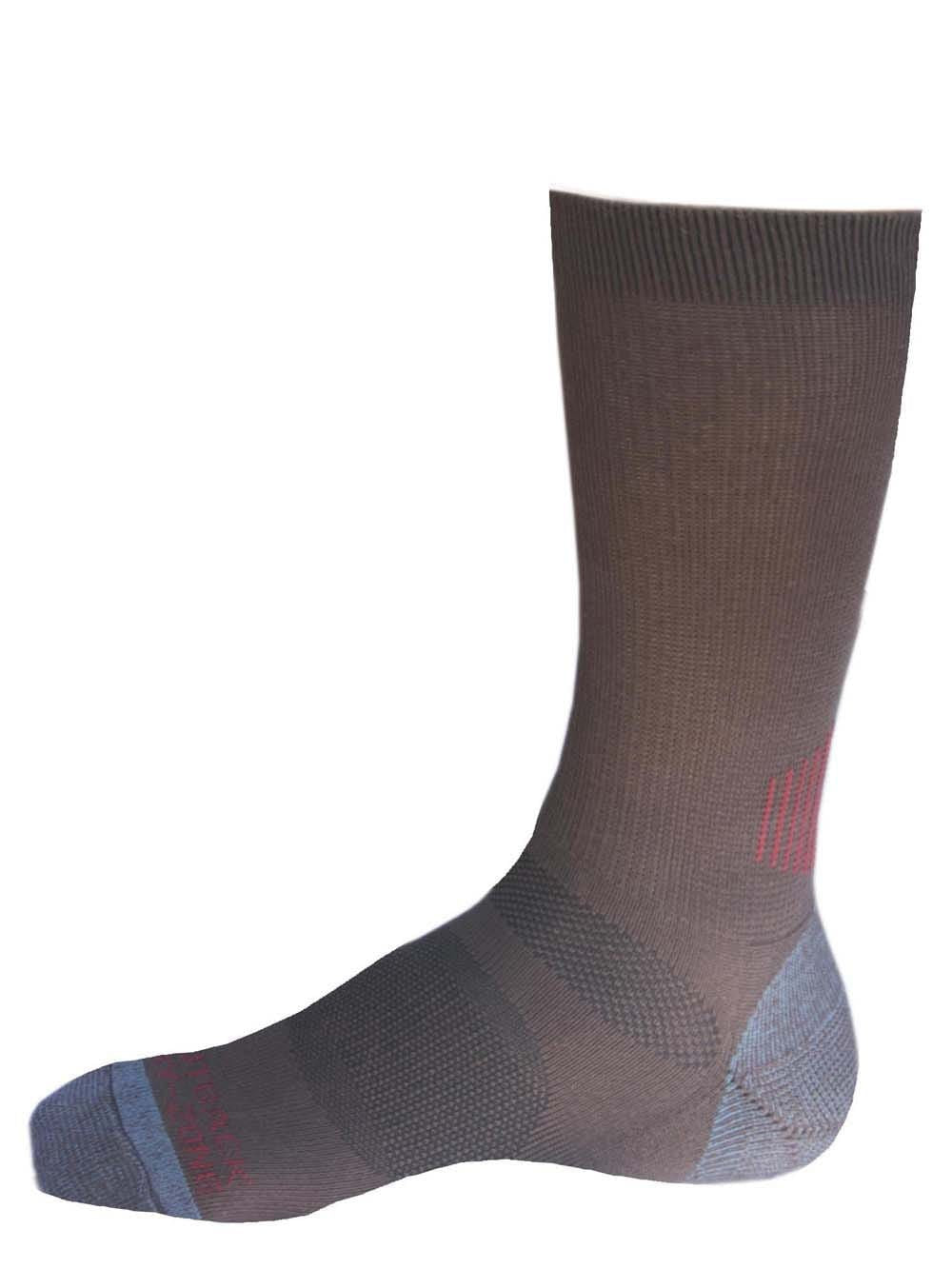 Outback Trading Co (NZ)  Men's Work Sock Brown 6001-BRN-OSFA