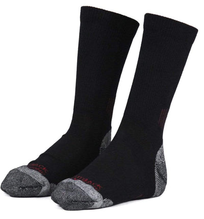 Outback Trading Co (NZ)  Men's Work Sock 6001-BLK-OSFA