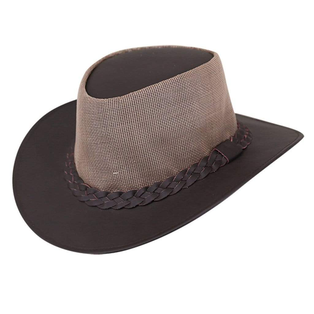 Outback Trading Co (NZ)  Murray River Hat SM / BROWN 13002-LBN-SM