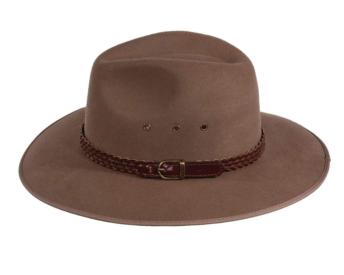 Outback Trading Co (NZ) South Fork Wool Hat 55cm 1106-TAU-55cm