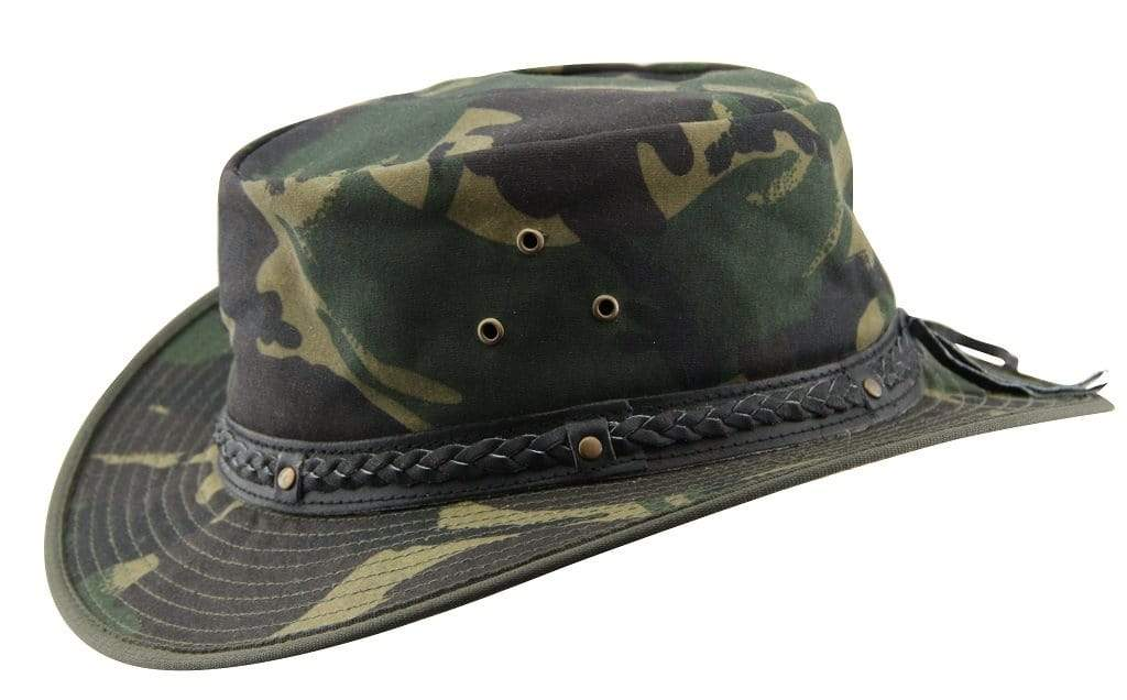 Outback Trading Co (NZ) Wild Outback Camo Hat
