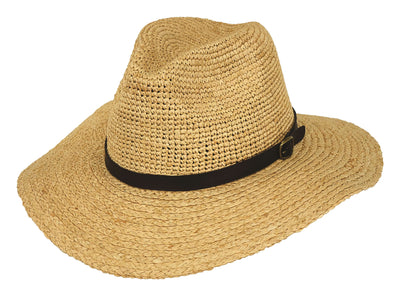 Outback Trading Company Beachcomber Straw Hat NATURAL / SM / MD 15142-NAT-S/M