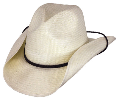 Outback Trading Company Longreach Straw Hat IVORY / SM / MD 15141-IVO-S/M