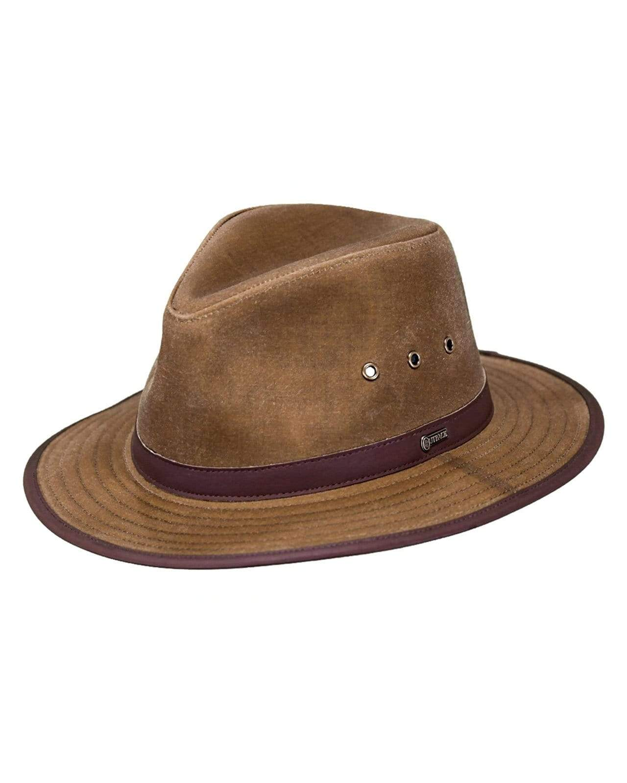 Outback Trading Company Madison River Oilskin Hat FIELD TAN / SM 1462-FTN-SM