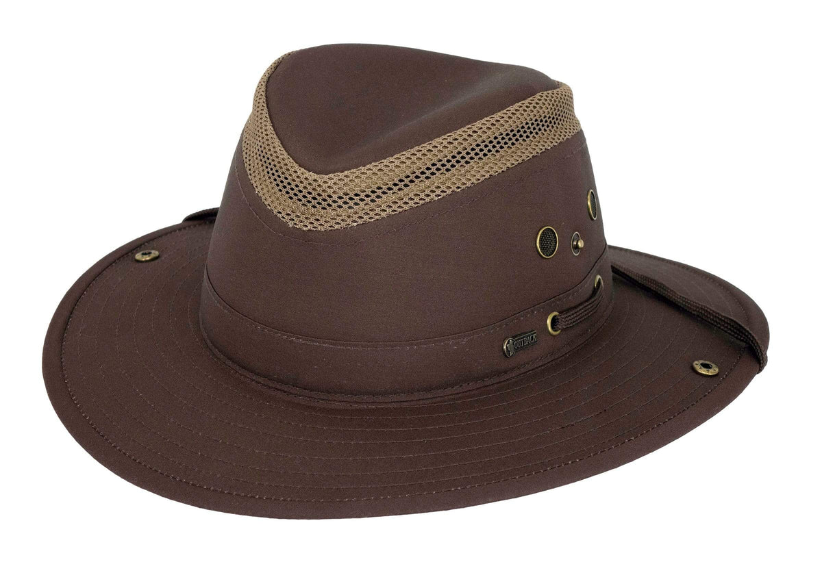 Outback Trading Company Mariner Polycotton Hat DKB / SM 14728-DKB-SM