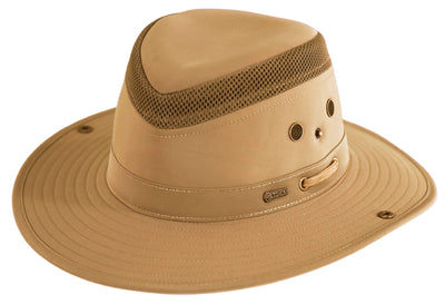 Outback Trading Company Mariner Polycotton Hat SAND / SM 14728-SND-SM