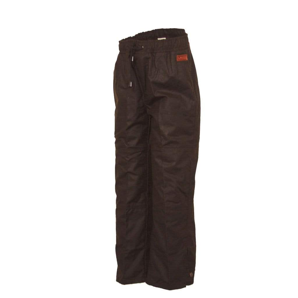 Outback Trading Company Oilskin Overpants BROWN / SM 2096-BN-S