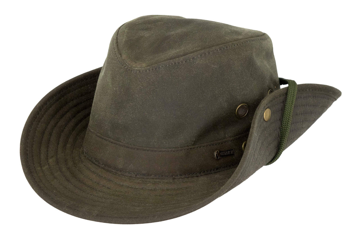 Outback Trading Company Oilskin River Guide Hat