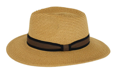 Outback Trading Company Port Augusta Straw Hat TAN / SM / MD 15133-TAN-S/M
