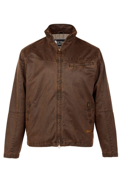 Outback Trading Company Reserve Jacket BROWN / SM 29710-BRN-SM