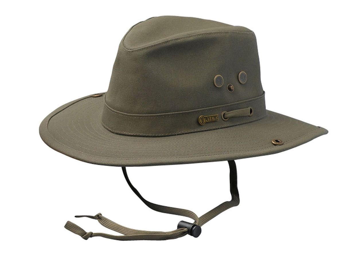Outback Trading Company River Guide Hat OLIVE / SM 14725-OLV-SM