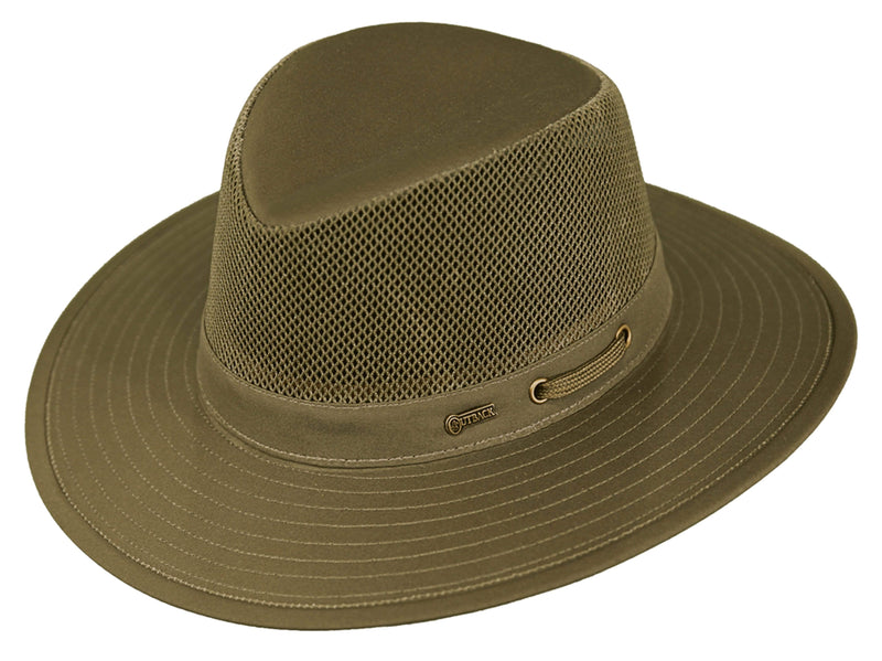 Outback Trading Company River Guide w/Mesh Hat SAND / SM 14726-SND-SM