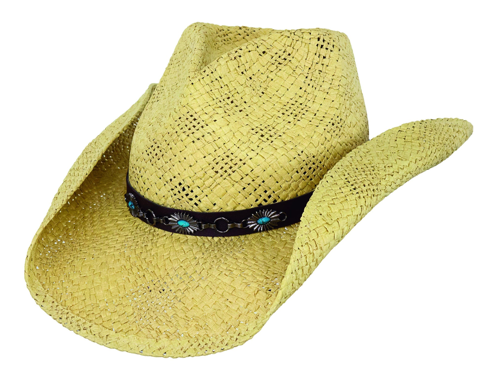 Outback Trading Company Southern Cross Straw Hat NATURAL / SM / MD 15137-NAT-S/M