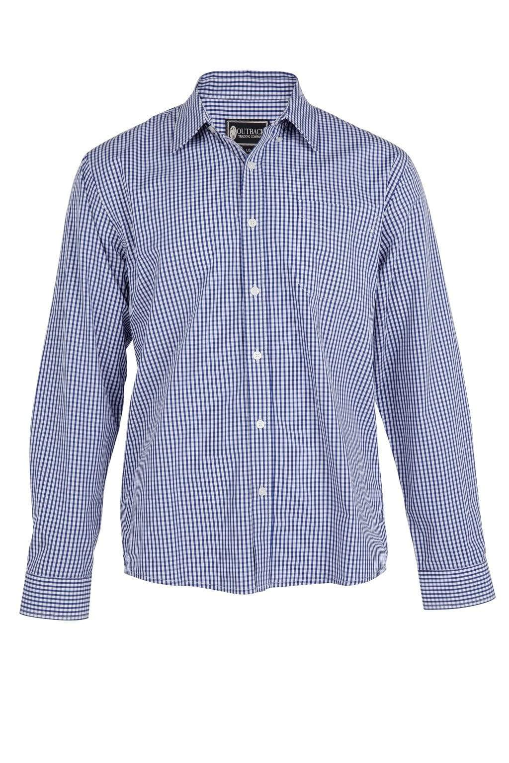 Outback Trading Company Stewart Shirt NAVY / SM 42723-NVY-SM