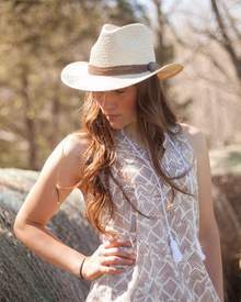 Outback Trading Company The West Ender Straw Hat
