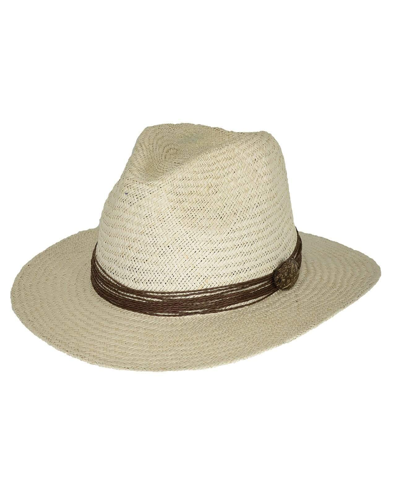 Outback Trading Company The West Ender Straw Hat IVORY / SM / MD 15135-IVO-S/M