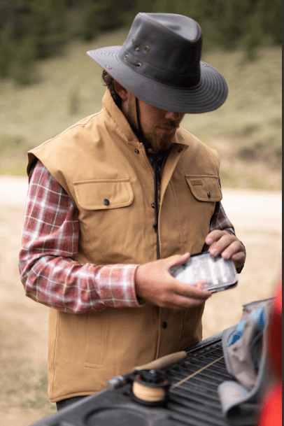Outback Trading Company Thomas Canvas Vest
