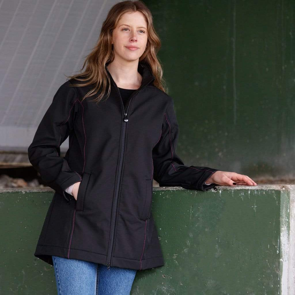 Outback Trading Company Violet Softshell Coat