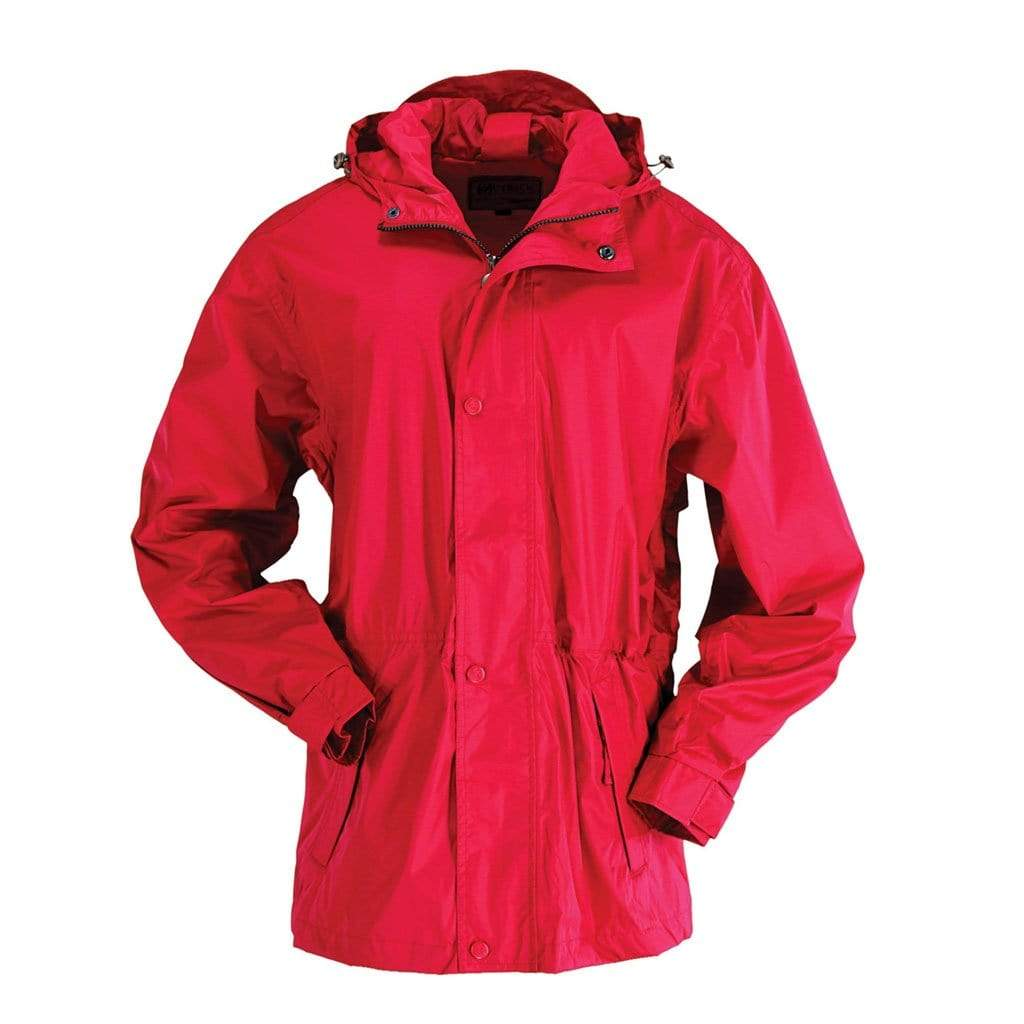 OutbackTrading.co.nz Packable Parka RED / XS 2405-RED-XS