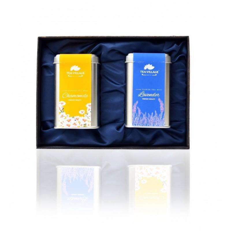 gift-set chamomile lavender tea with infuser-
