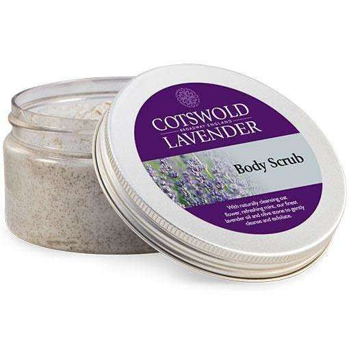 Lavender Body Scrub -tub