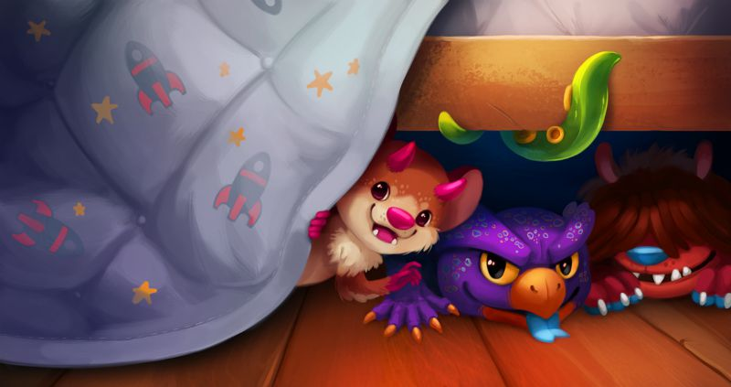 Scaring away the monsters under the bed for good
