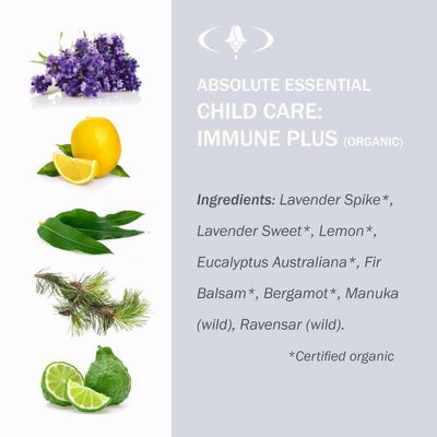 Child Care: Immune Plus Organic Oil - Absolute Essential