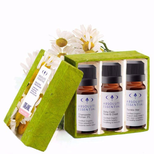 Baby & Child Sleep Essentials Package, Twinkle Star, Baby Nose & Chest and Chamomile  - Absolute Essential