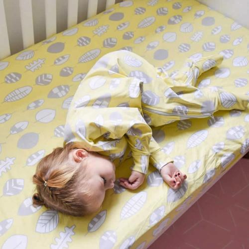 Baby Loves Sleep - Jersey Fitted Cot Sheets Organic Cotton