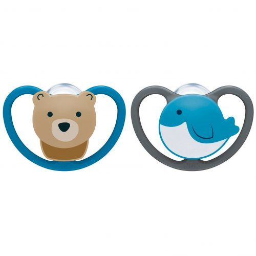 Space Silicone Pacifier - NUK