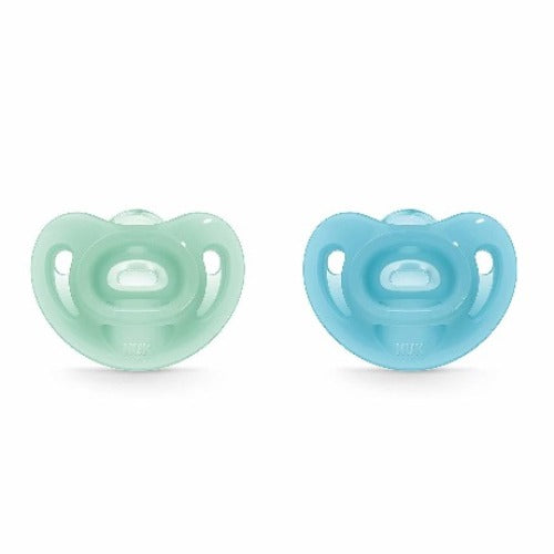 Soft Sensitive Silicone Soother 100% - NUK