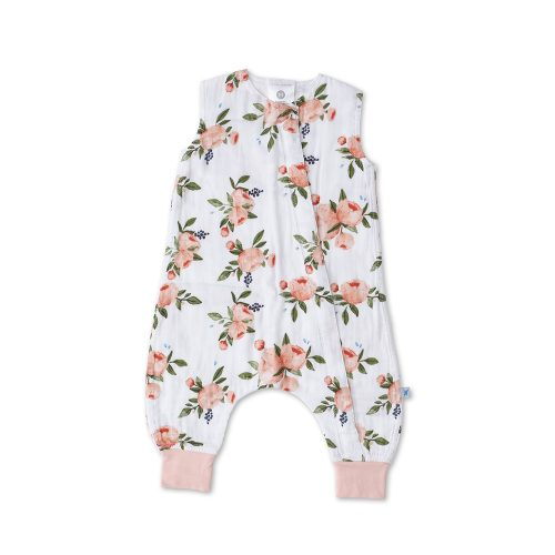 Cotton Muslin Sleep Romper - Little Unicorn