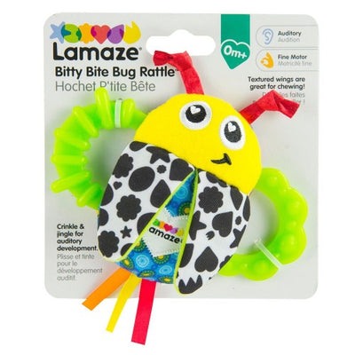 Bitty Bite Bug Rattle - Lamaze