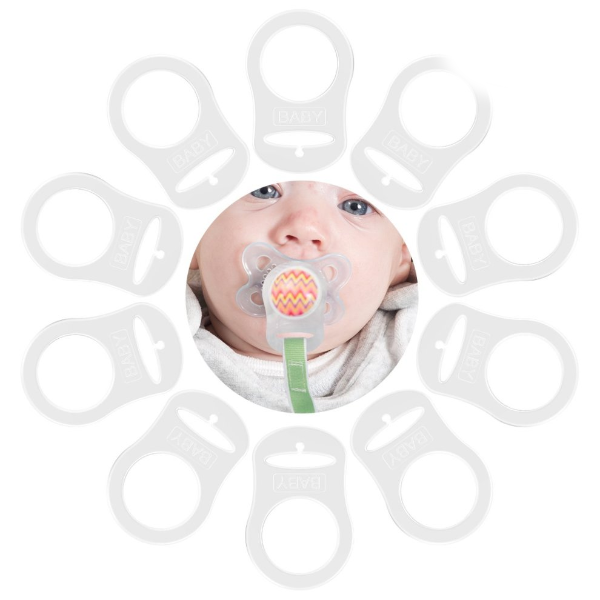 Adapter Twin Packs for Pacifier MAM, NUK and other button type dummies