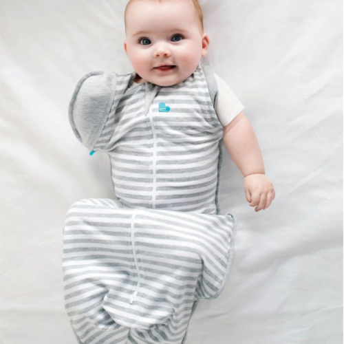 Love To Dream - Swaddle Up Transitional Bag Stripes 1.0 Tog