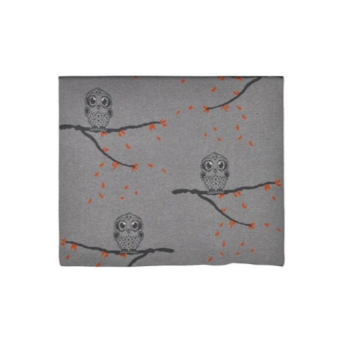 Babu - Cotton Blanket Owl Friends