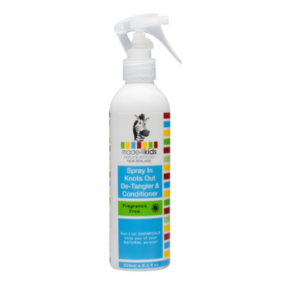 Spray In Detangler & Conditioner 250ml Kids - Made 4 Baby