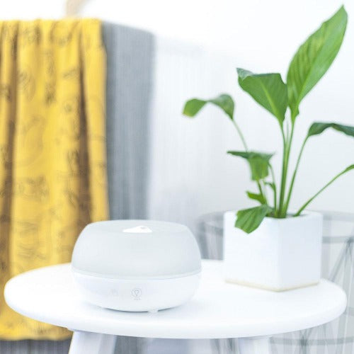 Ultrasonic Personal Humidifier and Aroma Diffuser White - Crane