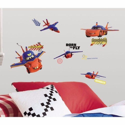 Cars Take Flight Wall Decors - RoomMates