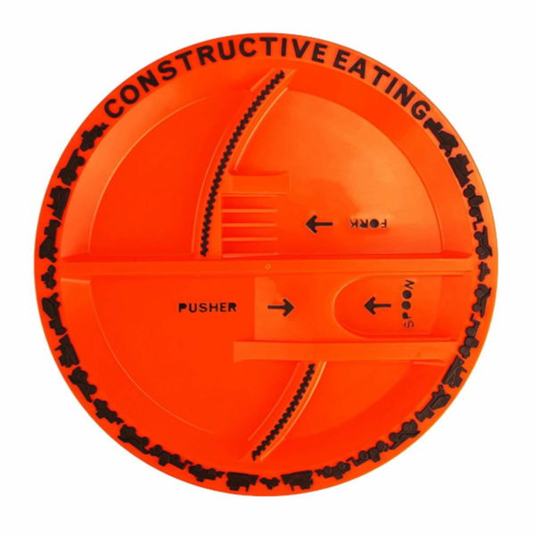 Construction Plate - Constructive Eating