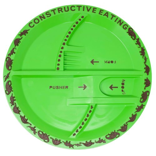 Dinosaur Plate - Constructive Eating