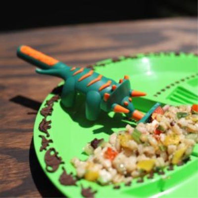 Dinosaur 3 Piece Cutlery - Constructive Eating