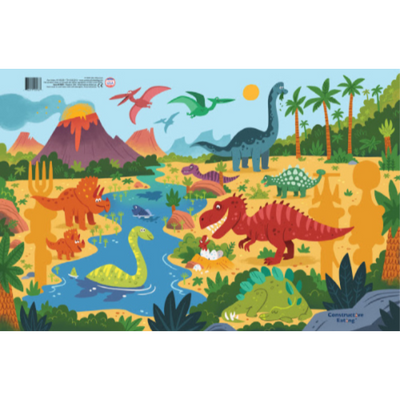 Dinosaur Placemat - Constructive Eating