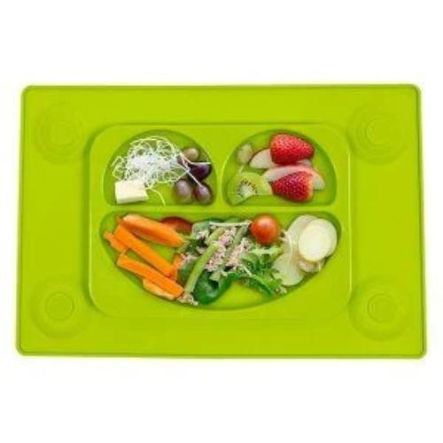 "Easymat Original ""transition to table"" Large Suction Plate with Spoon - EasyTots (SALE)"